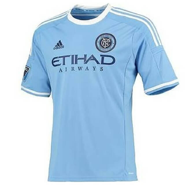 adidas a99090 new york city fc football soccer home shirt