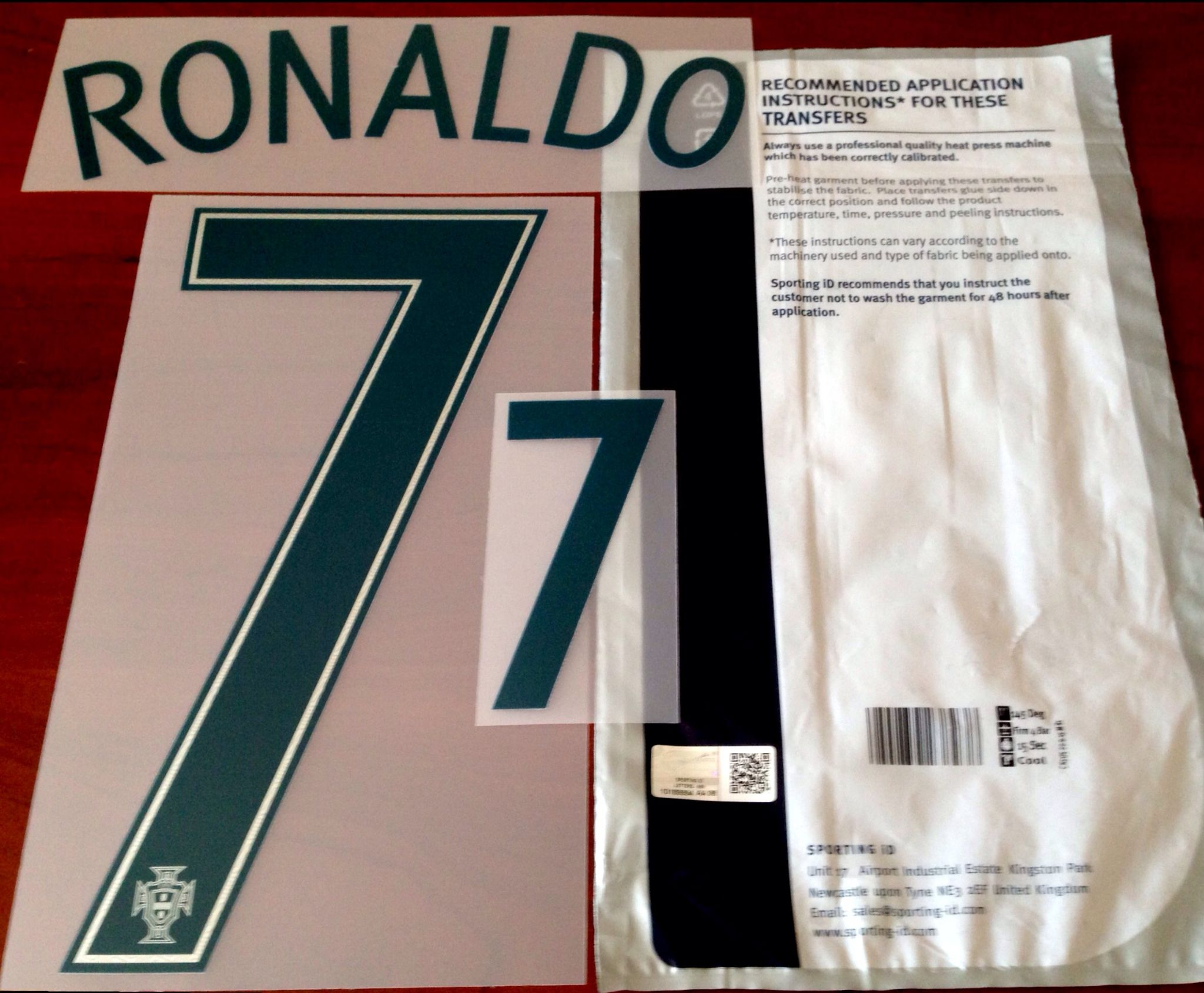 best website cc547 bf2e7 ronaldo 7 football shirts