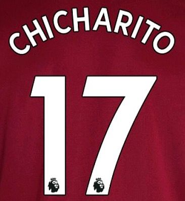 info for 09cf8 819bf 2017-18/19 West Ham Utd Home & Away Shirt CHICHARITO#17 PS-Pro SportingiD  Name Number Set