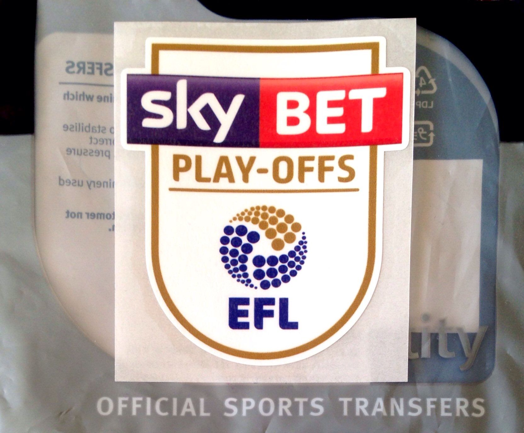 2017 & 2018 Sky Bet EFL CHAMPIONSHIP Play-Offs OFFICIAL