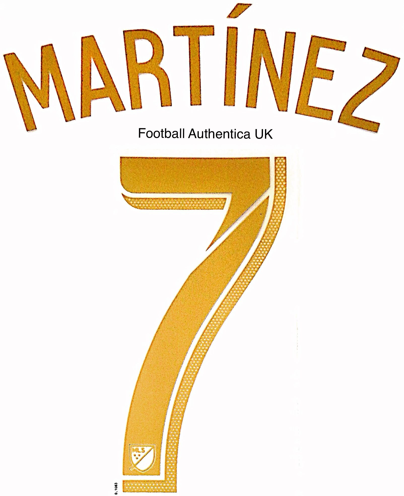 new arrival c5c44 44f3b 2018 19 Atlanta United MLS Home Shirt MARTINEZ 7 Official ...