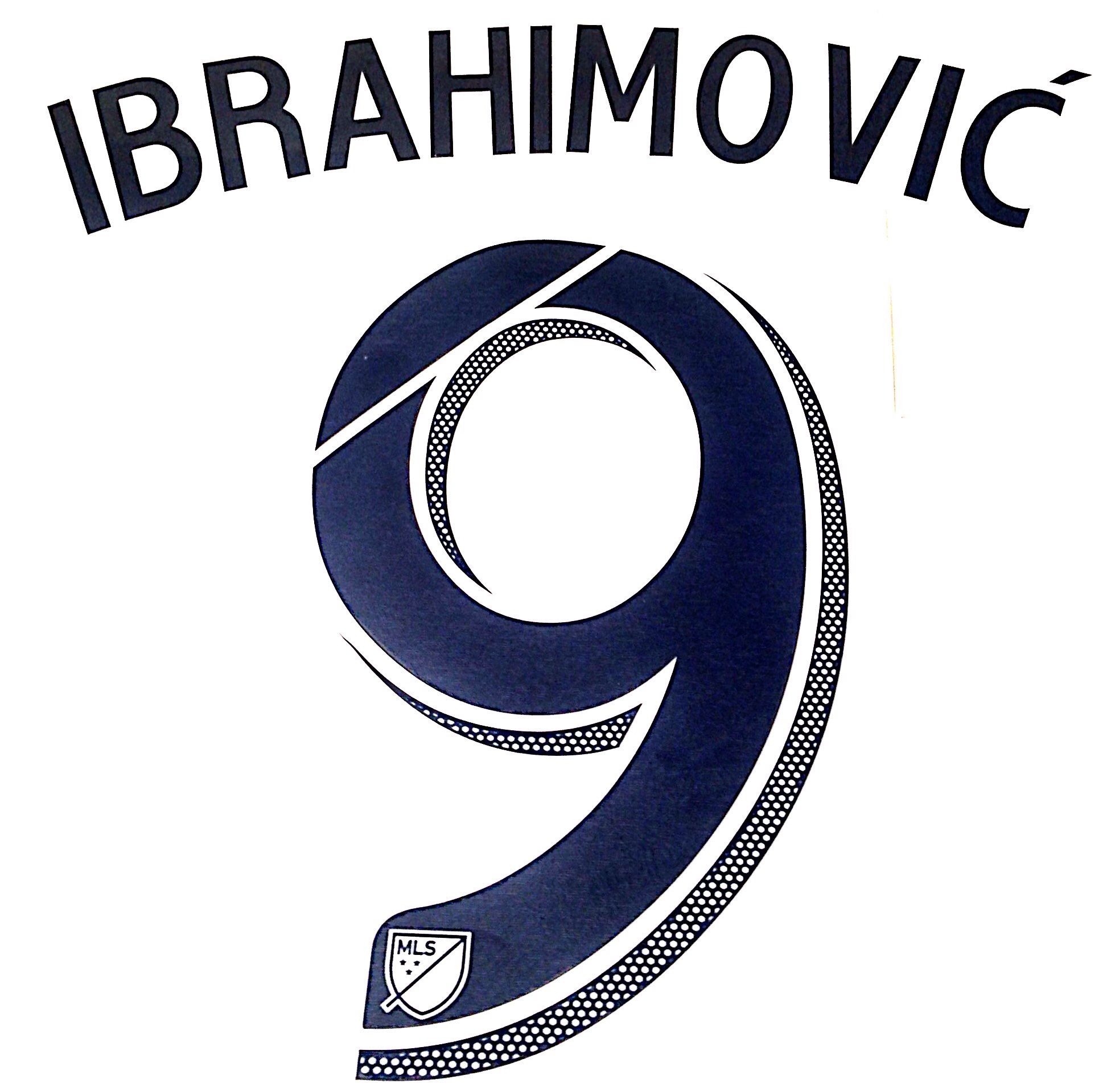 purchase cheap 6e093 7bb4b 2018 19 LA Galaxy MLS Home Shirt IBRAHIMOVIC 9 Official ...