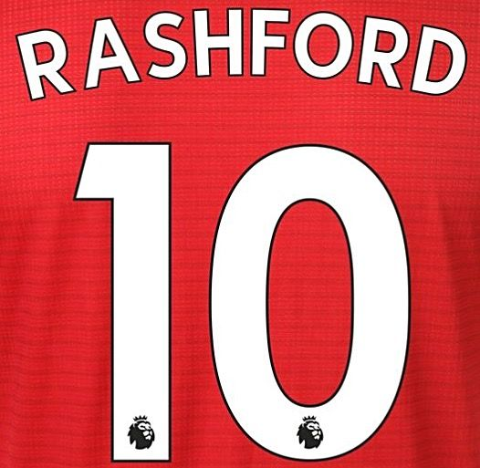 check out bf36f f48fb 2018-19 Manchester Utd Home & Third Shirt RASHFORD#10 PS-Pro SportingiD  Name Number Set
