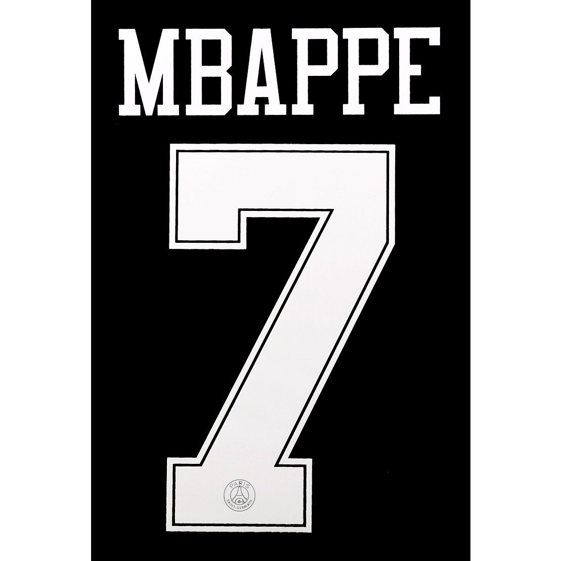 hot sale online 3b9b2 4afaa 2018-19 PSG Paris UCL Third Jordan X Shirt MBAPPE 7 Official ...