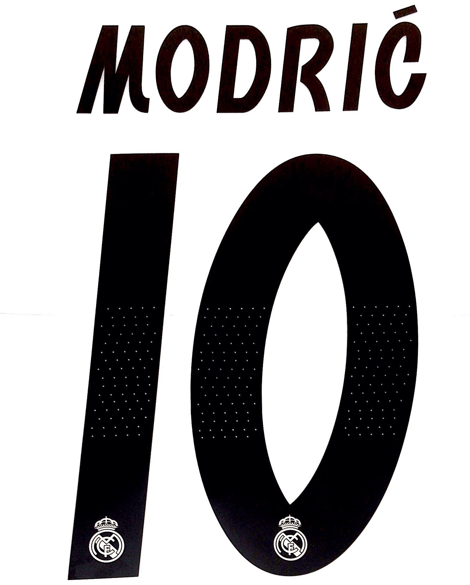 the latest 2d699 d29d5 2018-19 Real Madrid UCL Home Shirt MODRIC 10 Official ...
