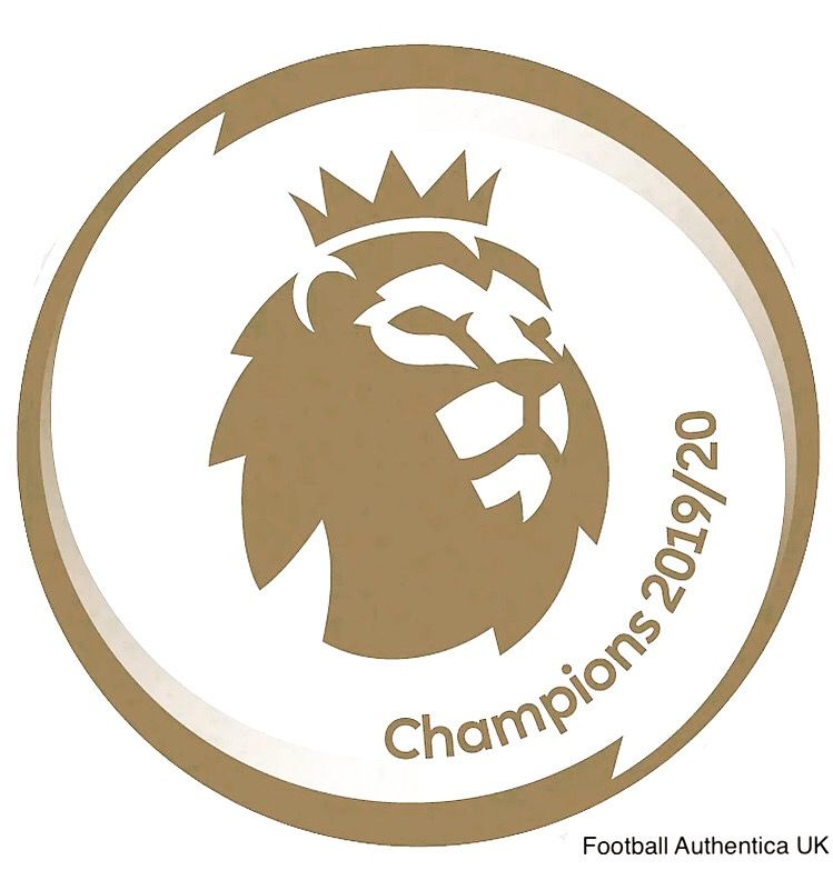 2019-20 Liverpool EPL CHAMPIONS Official Baby//Infant Size Football Badge Patch