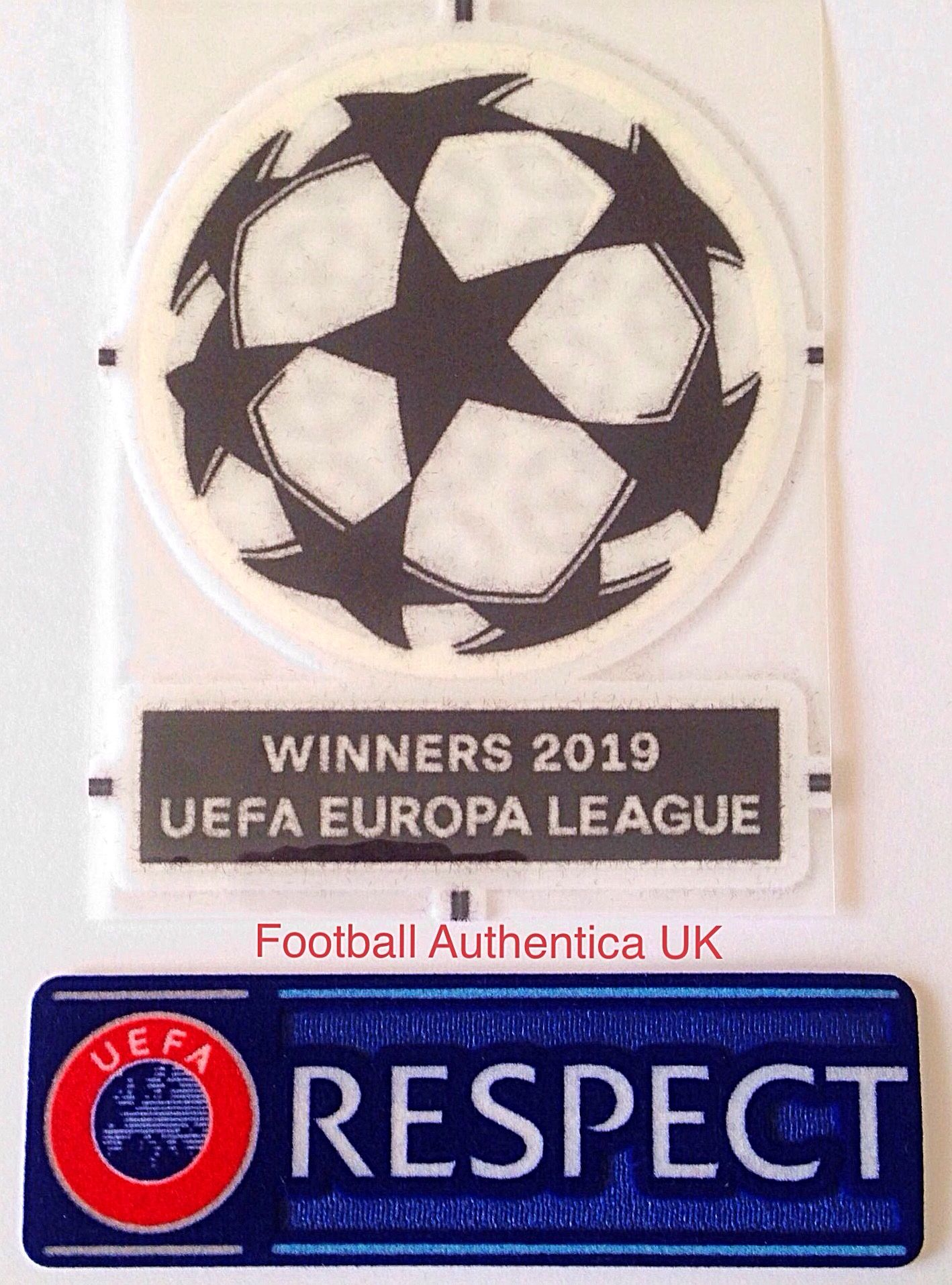 Patch toppa Respect x Champions Europa League 2018//19//20 Sporting id