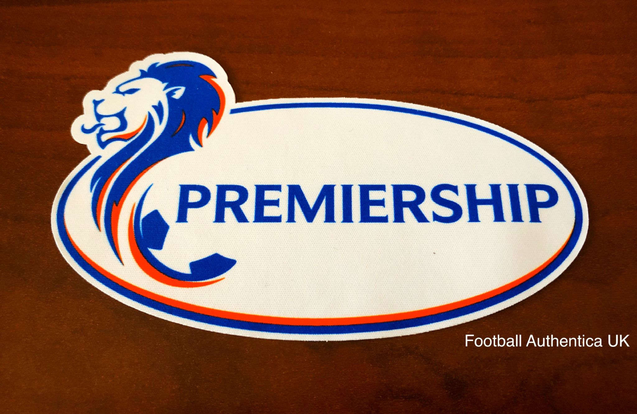 2020 21 Rangers Glasgow Spfl Scottish Premiership Official Player Issue Size Football Badge Patch