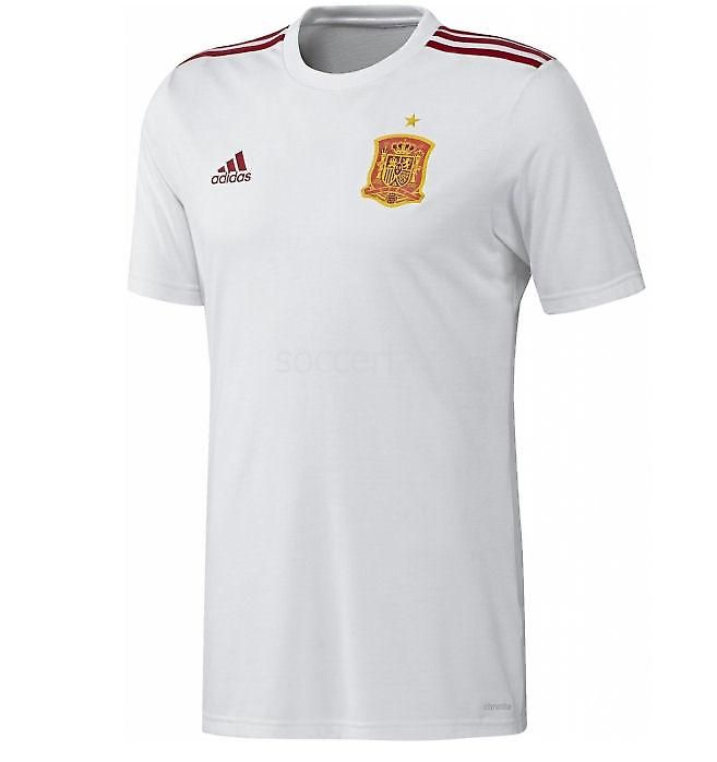 2a09c1f7f54 2016-17 Official Adidas SPAIN ESPANA Away Football Soccer Fan Shirt
