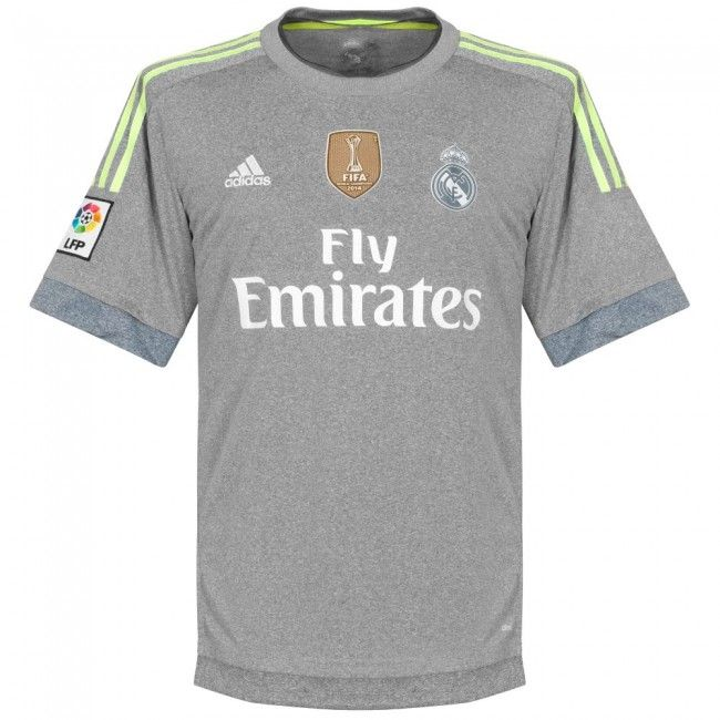 59683b801 2015-16 Official Adidas REAL MADRID Away Football Soccer Shirt Jersey NEW