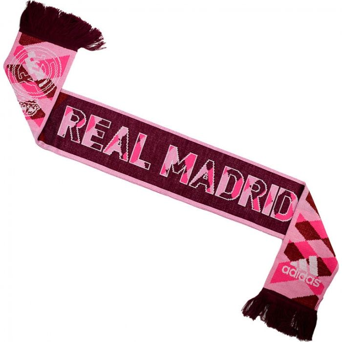 detailed pictures da57e ca462 ADIDAS AB9347 Real Madrid Football Soccer HALA MADRID Supporters Scarf - NEW