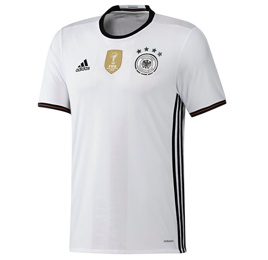 bf72a15cf6a 2016-17 Official Adidas GERMANY Home Football Soccer Shirt Jersey