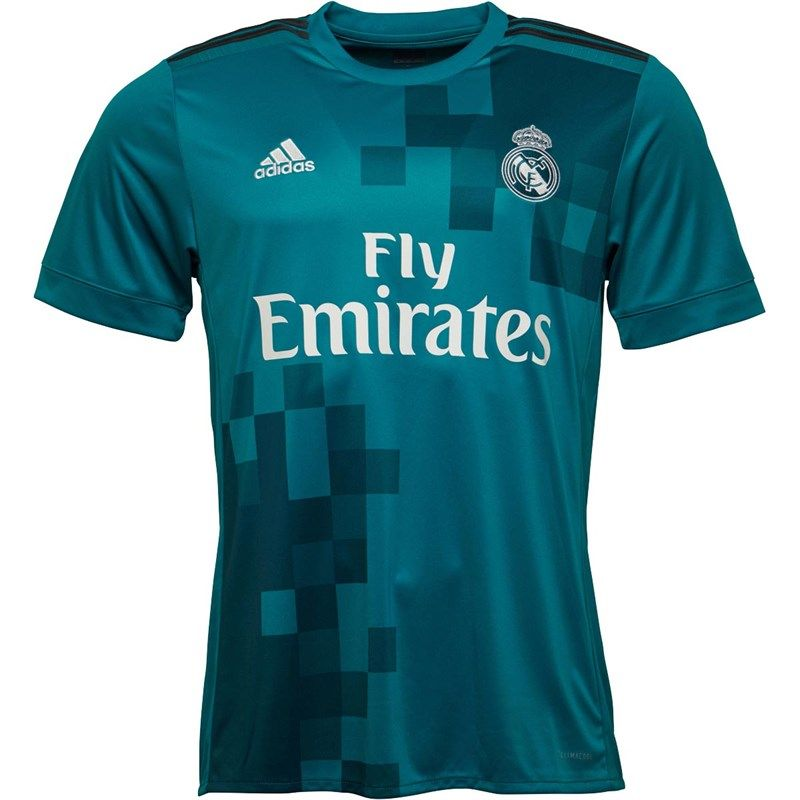 cheap for discount 898eb ffc58 ADIDAS BR3539 Real Madrid Football Soccer Third Shirt 2017-18 Size Medium  NEW