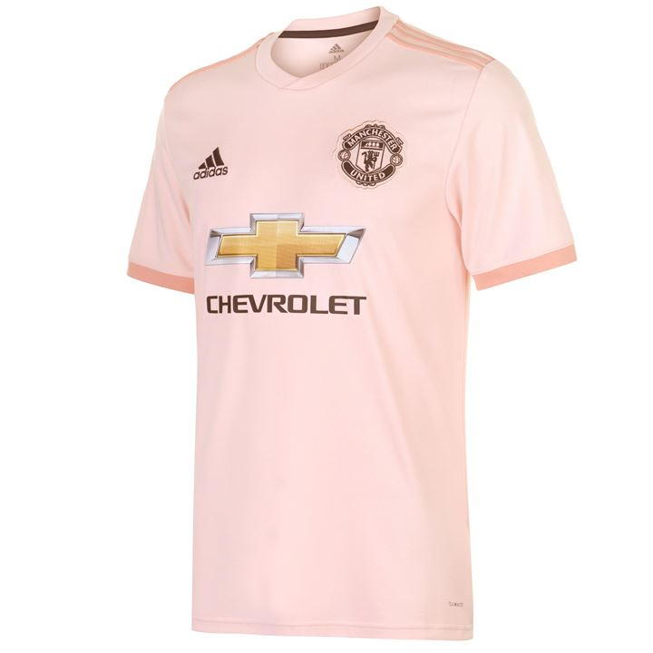 newest e3bf8 0b4a3 ADIDAS CG0038 Manchester United Football Soccer Away Shirt 2018-19 Size  Large NEW