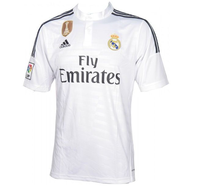 a76d93e65 2014-15 Official Adidas REAL MADRID Home Football Soccer Shirt Jersey
