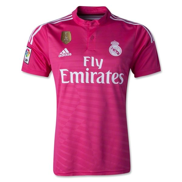 3ae96bfb6 2014-15 Official Adidas REAL MADRID Away Football Soccer Shirt Jersey