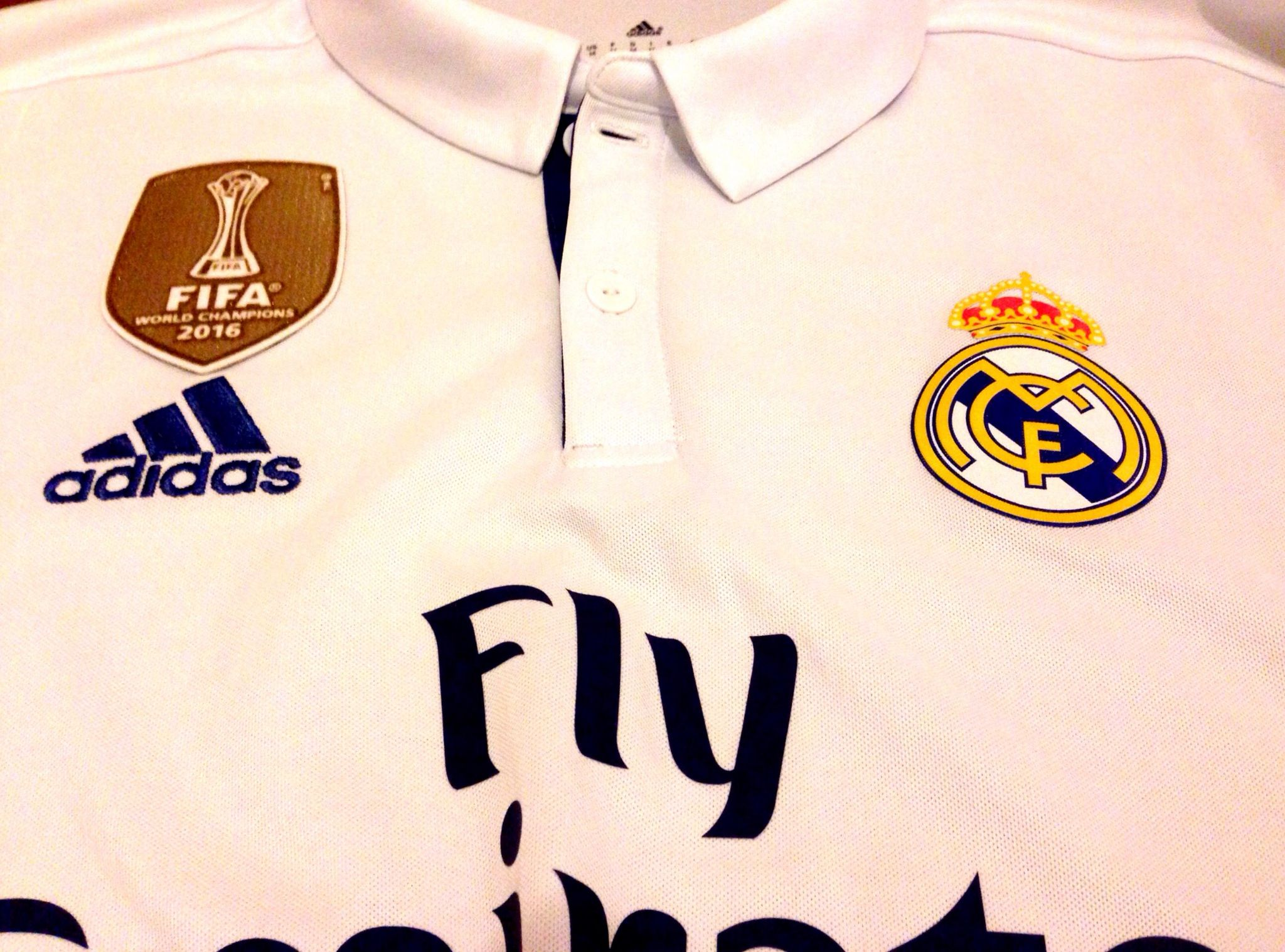 low priced 92fa5 62d37 Sports & Outdoors Adidas Mens Real Madrid Home Jersey S94992