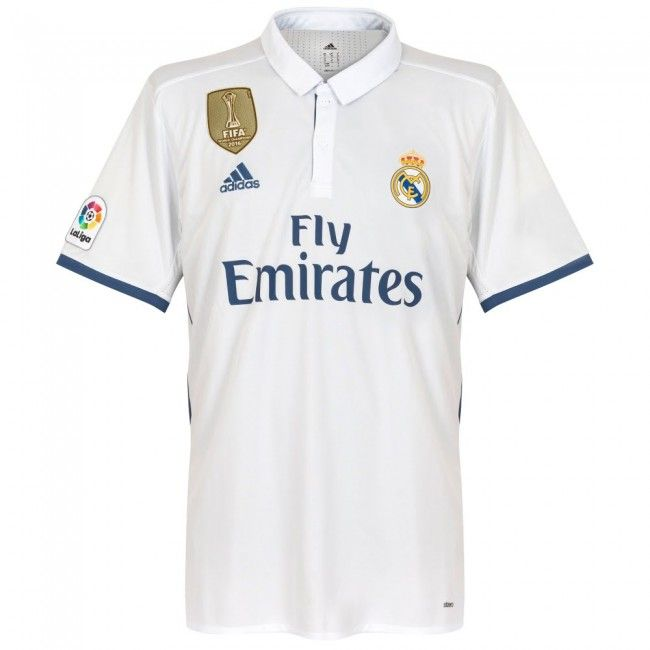 8b3c2241c4c 2016-17 Official Adidas REAL MADRID Home Football Soccer Shirt