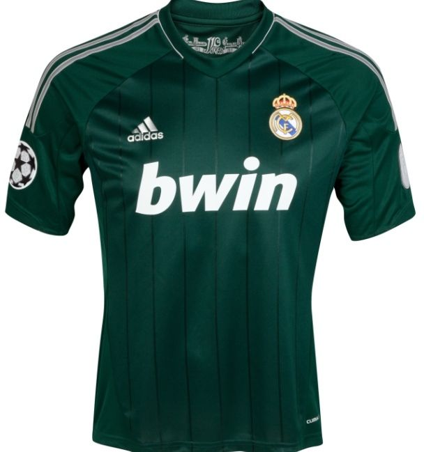 a5a3fd5cb 2012-13 Official Adidas REAL MADRID 3rd Away Football Soccer Shirt