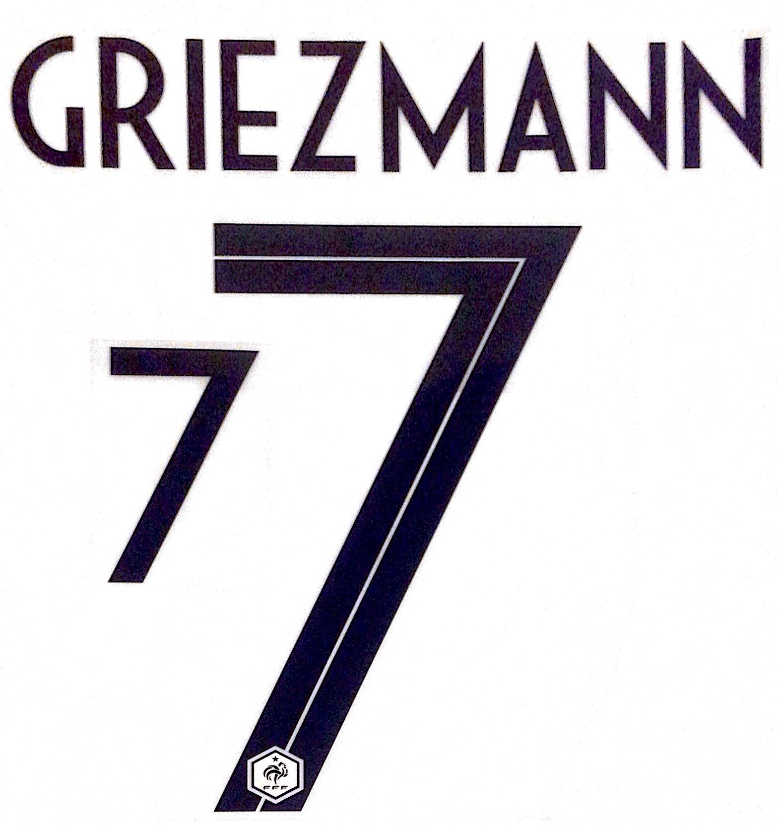 on sale 95320 f2dc6 France WORLD CUP 2018 Away Shirt 2018-19 GRIEZMANN 7 Nike PS ...