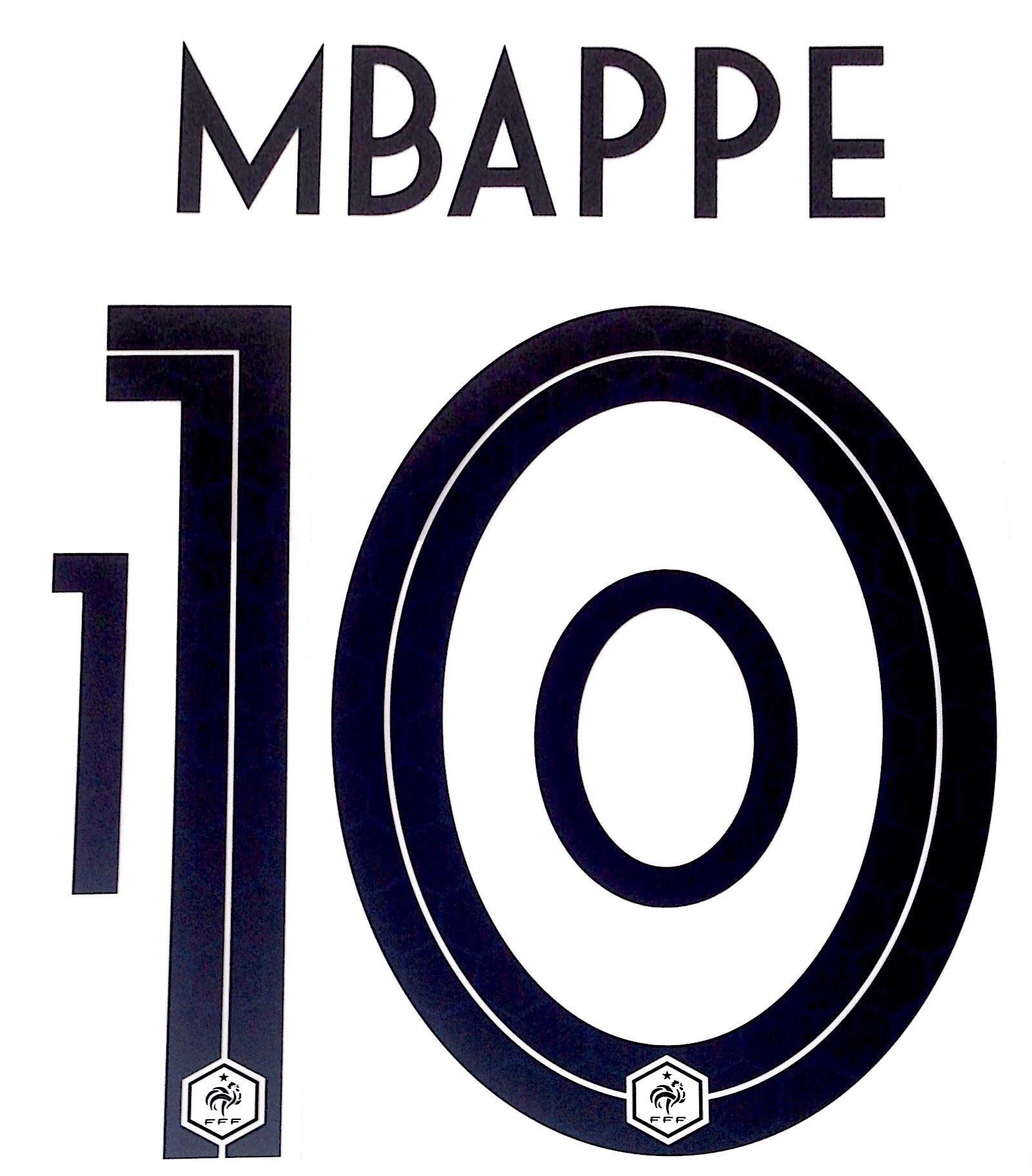 official photos 11522 729e1 France WORLD CUP 2018 Away Shirt 2018-19 MBAPPE 10 Nike PS ...