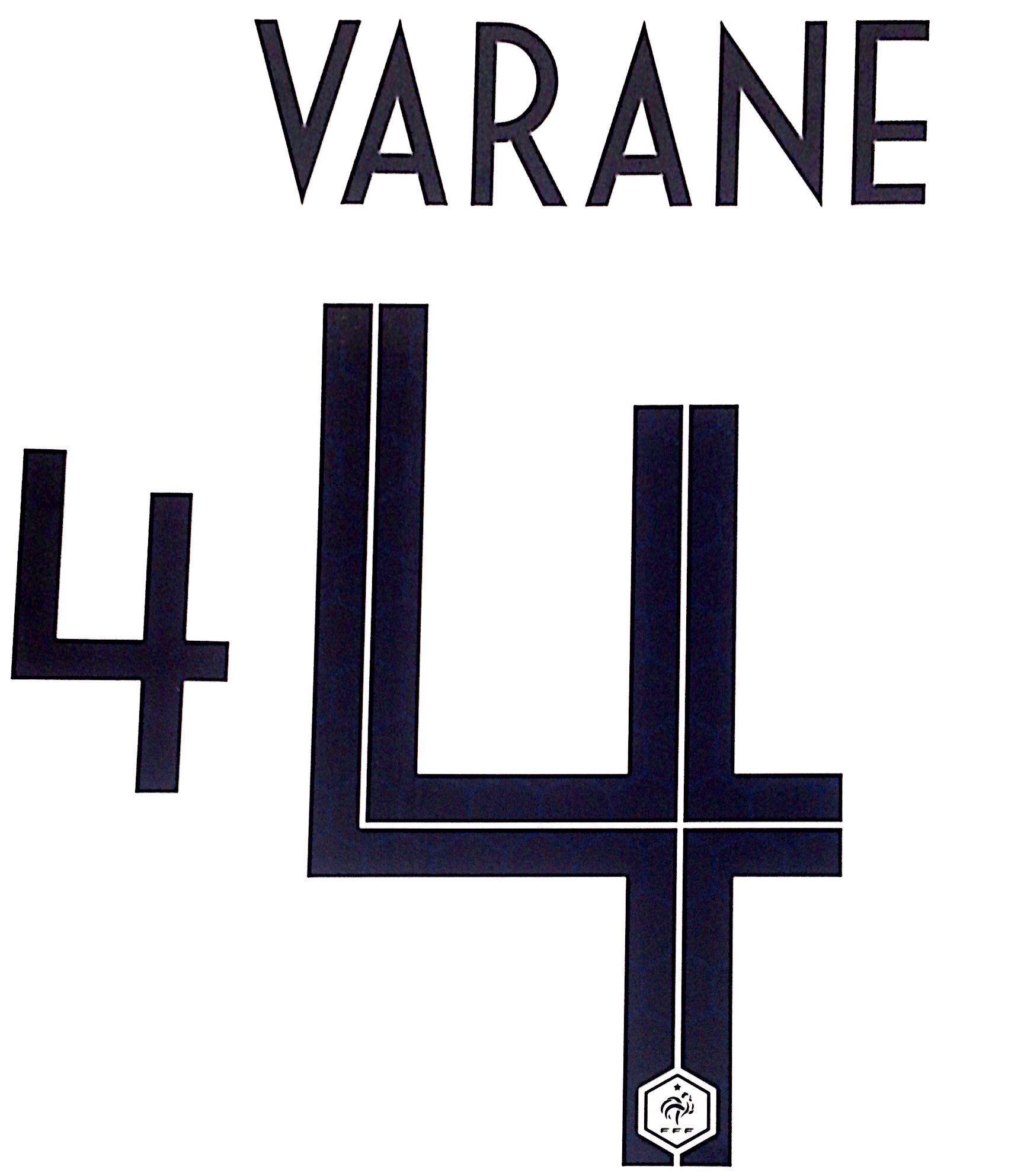 newest collection 1c3a8 9ed3c France WORLD CUP 2018 Away Shirt 2018-19 VARANE 4 Nike PS-Pro SportingiD  Name Number Set