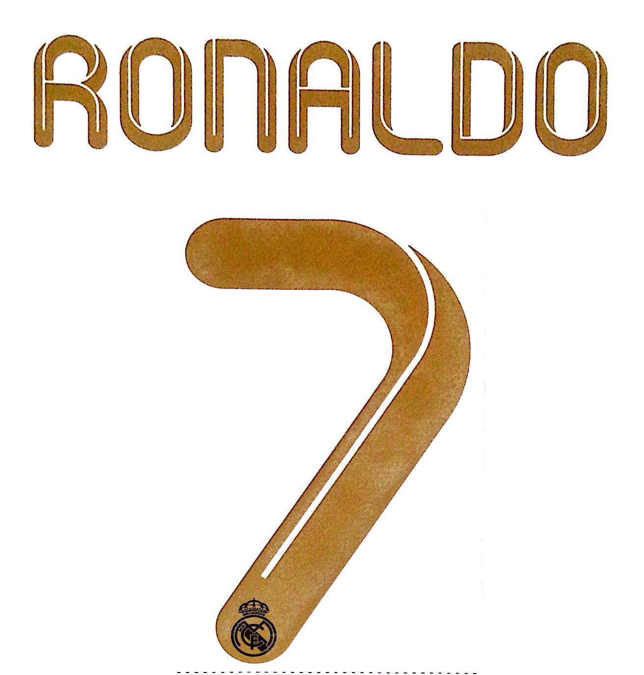 sports shoes ebe87 380fa KIDS 2011-12 Real Madrid RONALDO#7 La Liga/UCL Home Shirt OFFICIAL  SportingiD Name Number Set