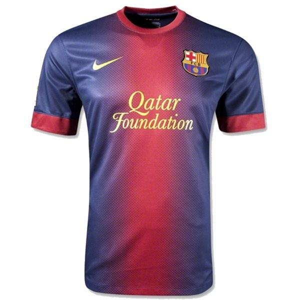 1c285624e 2012-13 Official Nike FC BARCELONA Home Football Soccer Shirt Jersey