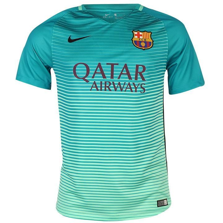 e17faada487 2016-17 Official Nike BARCELONA Third Football Soccer Shirt Jersey