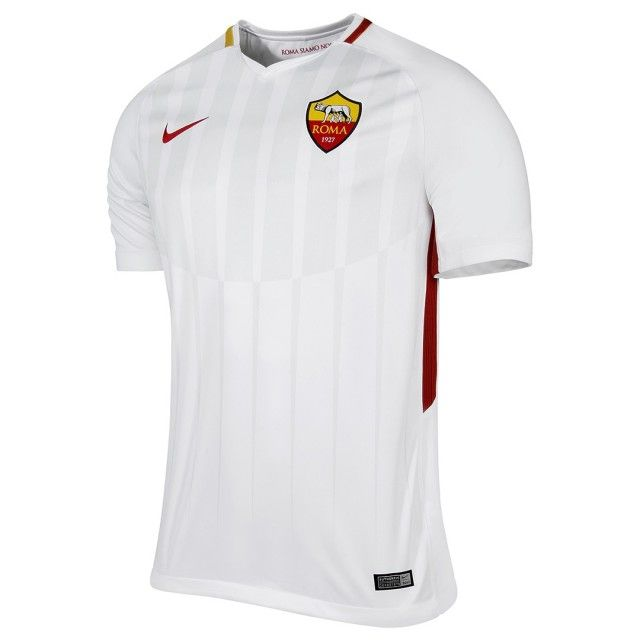 NIKE 847283-100 AS Roma Football Soccer Away Shirt 2017-18 Size ... 05b586dd9