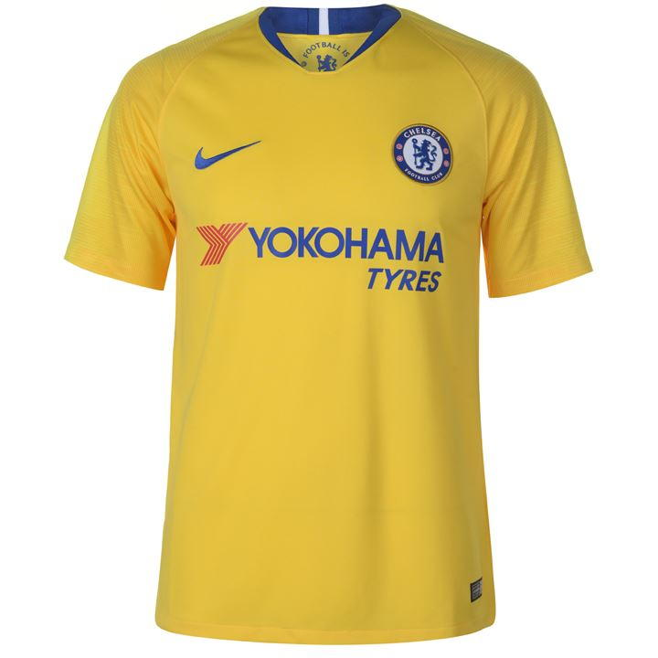 sports shoes 1543b e8151 NIKE 919008-720 Chelsea Football Soccer Away Shirt 2018-19 Size Medium NEW