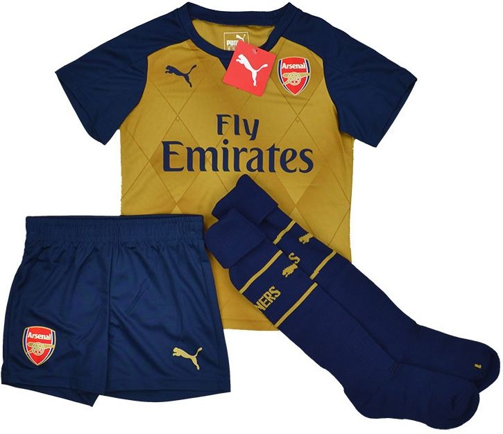 bb7835d1f PUMA 748029-08 KIDS-BOYS Arsenal FC Football Away MiniKit 2015-16 ...
